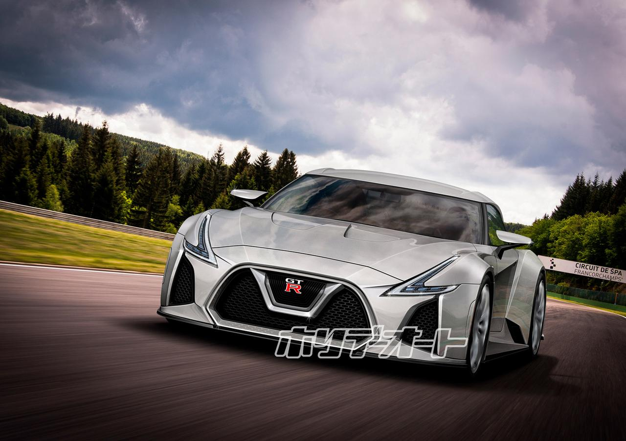 【裏事情】次期日産GT-Rの全貌が見えてくるのは2020年以降!?【東京モーターショー2017】part.6 ...