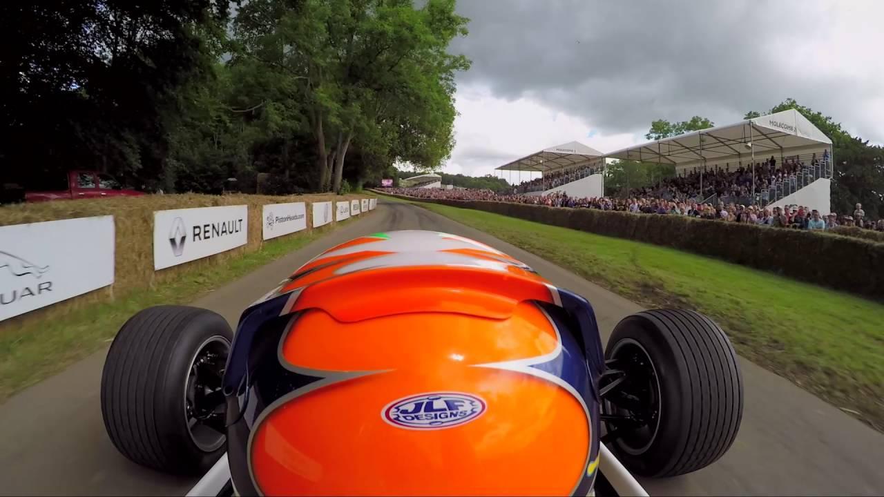 画像: F1 cockpit cam: At the wheel of the Williams FW08 at Goodwood youtu.be