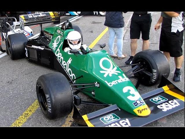 画像: Tyrrell 012 F1 - Historic Grand Prix 2014 (Pure Sound!) youtu.be