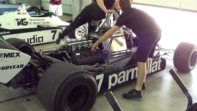 画像: Imola Classic, warm up Brabham BT49C youtu.be