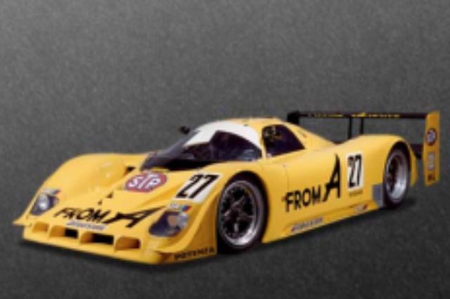 画像: 1990年 NISSAN R90CK #27 FROM A 1990年ニッサンがル・マン24時間制覇を視野にWSPC(世界スポーツプロトタイブカー選手権)に投入したのがR-90CK。同年のル・マン24時間ではマーク・ブランデルのドライブで見事ポールポジションを獲得。同型ながらR-90CP名で参戦したJSPC(全日本スポーツプロトタイプカー選手権)でも大活躍。星野一義/鈴木利男組が鈴鹿1000kmで優勝。長谷見昌弘/アンデルス・オロフソン組が国産車初のシリーズチャンピオンを獲得した。