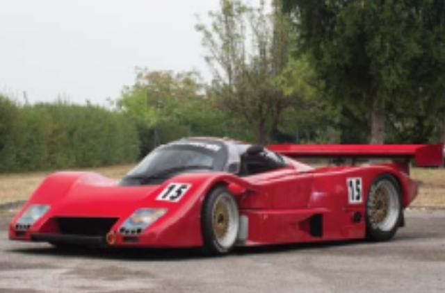 画像: 1986年 Lancia Ferrari LC2 #9 (マルティニカラー) ポルシェ956、962が引き続き強さを見せる1986年のWSPC(世界スポーツ・プロトタイプカー選手権)に参戦したのが、フェラーリのV8・2.6Lツインターボエンジンをミッドシップに搭載したランチアLC2。ポルシェ勢の牙城を崩すことはできなかったが、第1戦で2位入賞、2度の予選ポールポジションを獲得するなどキラリと光る速さを見せた。ランチアはエンジンを替えながら1991年まで参戦し、通算3勝を記録した。(※写真は同型車)