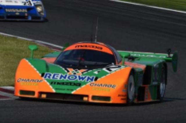画像: 1991年 MAZDA 787B #202 JSPC仕様車 1991年のル・マン24時間レースで総合優勝を飾った#55がミュージアム入りとなった後、国内の全日本スポーツプロトタイプカー耐久選手権(JSPC)レースに参戦するため、ル・マン後に急遽製作された787B-003号車。国内レース専用マシンとして製作されたため、シャシーやカウル類には軽量化が施された。外観上はル・マン仕様には不可欠な高照度ヘッドライトがなく、レナウンカラーのグリーンとオレンジの配置が逆転されているのが大きな特徴だ。