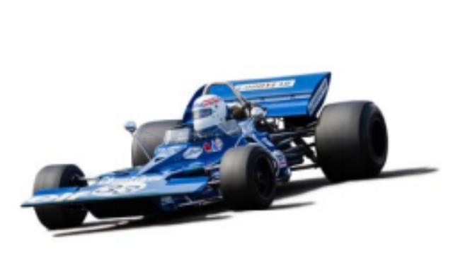 画像: 1970年 Tyrrell 001 アルミ・モノコック、コスワースDFV、ヒューランドFG400というオーソドックスな構成ながらコンパクトでハンドリングに優れた001。ジャッキー・スチュワートのドライブで第11戦カナダGPに現れた001は、いきなりポールポジションを獲得するという衝撃の公式戦デビューを飾った。 70年はトップを走るも全てリタイアに終わったが、翌71年には南アフリカ、非選手権のカナダとブランズハッチで2位に入るなど活躍。現在001を所有しているのは、世界的なティレル・コレクターとして知られるジョン・ディレーンである。