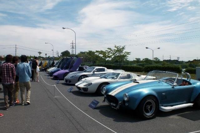 画像2: SUZUKA Sound of ENGINE 2015での「SUPER CAR COLLECTION」の様子