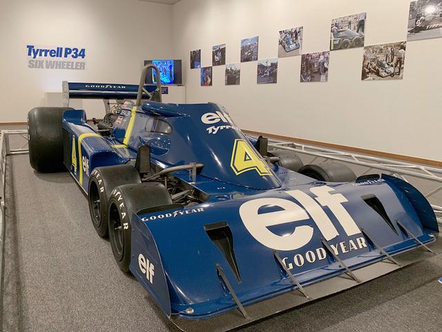 画像: 青森県上北郡七戸町で開催された特別展「模型のタミヤがやってきた Part2」で、東北初登場となったティレルP34は、大きな話題となりました。 www.tamiya.com