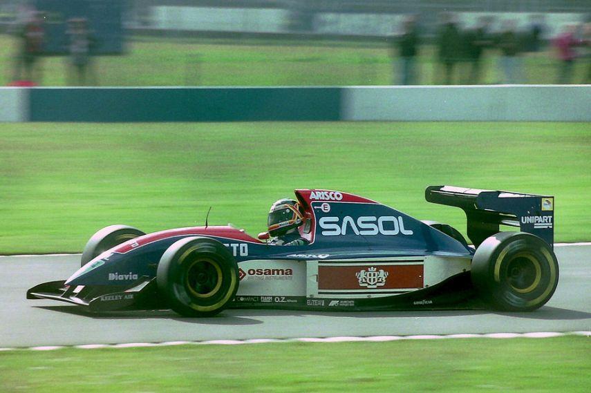 画像: 1993年は、ジョーダン193に乗ったT.ブーツェンですが、この年が彼のF1ラストシーズンになりました。 www.snaplap.net