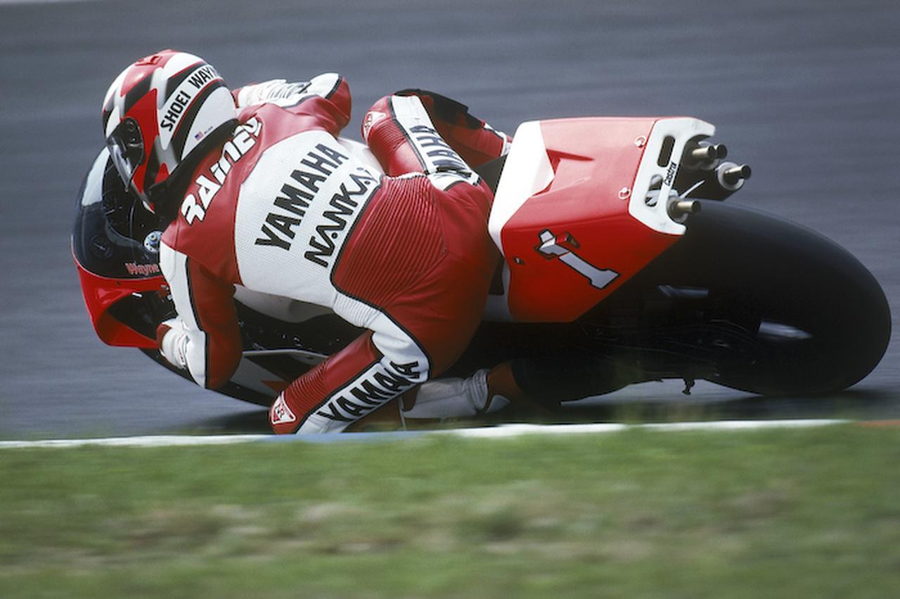 画像: 1992年はシーズン3勝に勝ち星はとどまりますが、見事3連覇を達成することに成功します! global.yamaha-motor.com