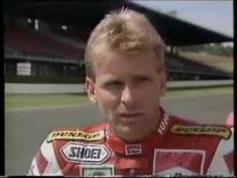 画像: Wayne Rainey Profile 1991 Eastern Creek GP500 youtu.be