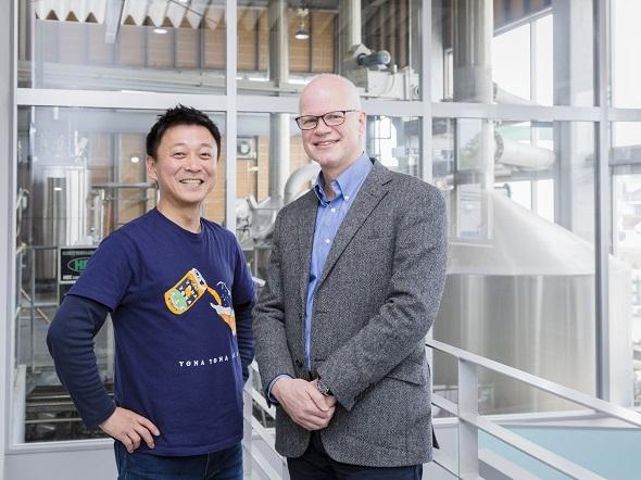 画像: ヤッホーブルーイング井手社長とアトラシアン日本法人スチュアートが語り合う「チームの秘訣」