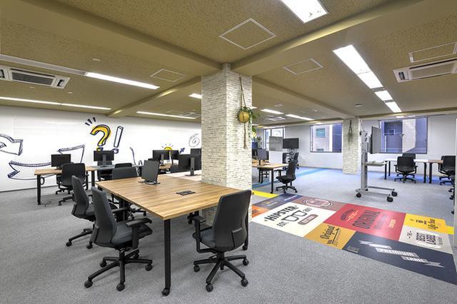 画像: プロジェクトワークを組成することに特化した南青山オフィスの「イノベーションフロア」