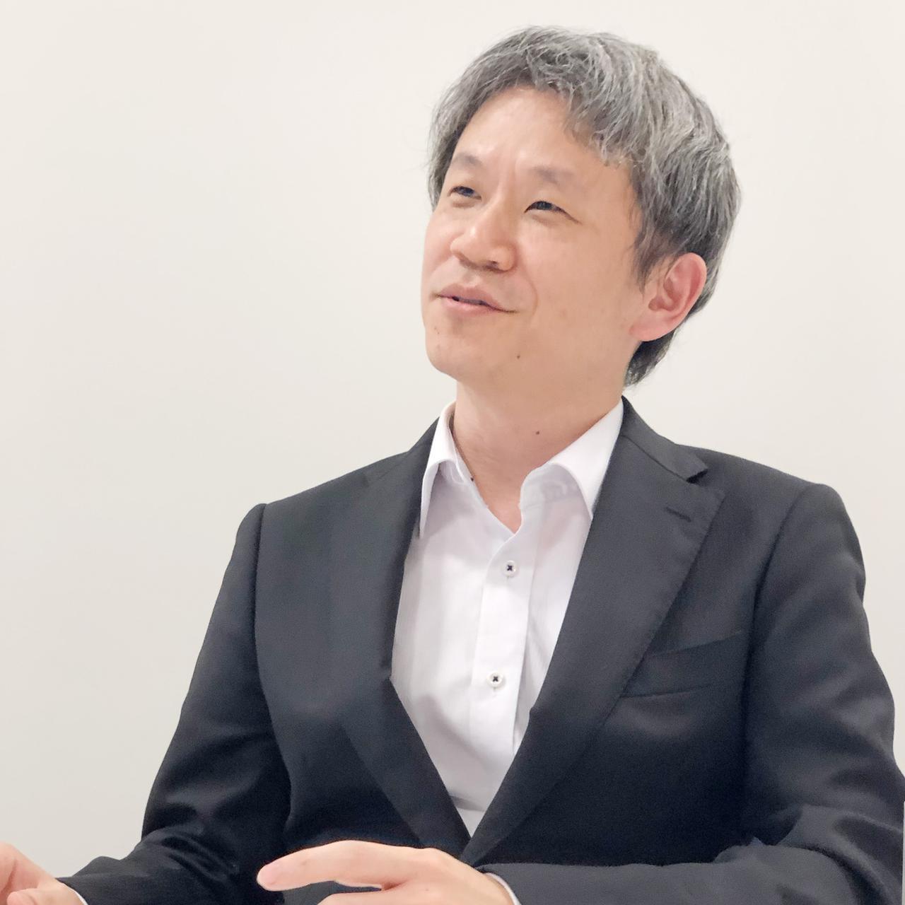 画像: 平岡 嗣晃氏 技術革新本部 技術企画部 グループマネージャー