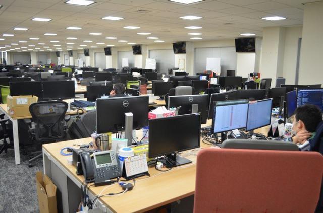 画像: 従業員の9割が在宅勤務に移行したGMOインターネットグループの社内