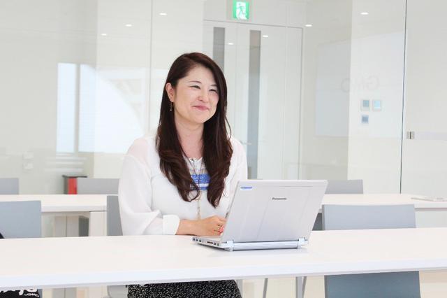 画像: GMOインターネットの福井敦子取締役グループコミニケーション部長