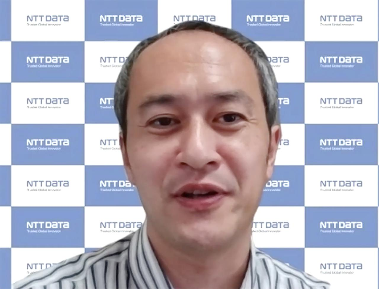 画像: 株式会社NTTデータ デジタル技術部 アジャイルプロフェッショナル担当 エグゼクティブR&Dスペシャリスト 町田 欣史氏