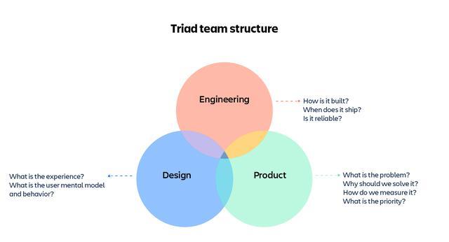 画像: 図2:トライアドチームの構造