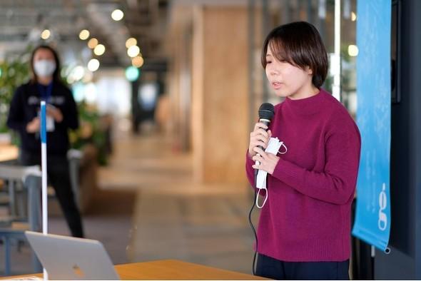 画像: 吉田陽香さん「旅行会社で給与計算事務をしています。業務の中で、RPAというAIのシステムを使い始めて、プログラミングの未来を感じました。プログラミングで、この世界に『楽しく楽(ラク)できるもの』を創り出したいと思っています」