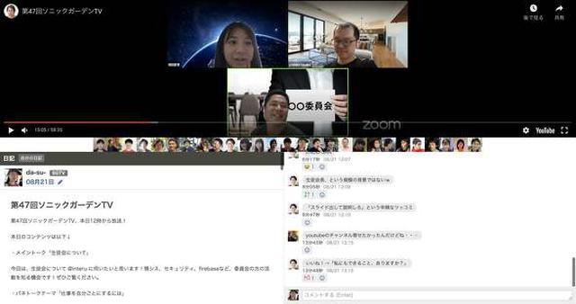 画像: 社内YouTube