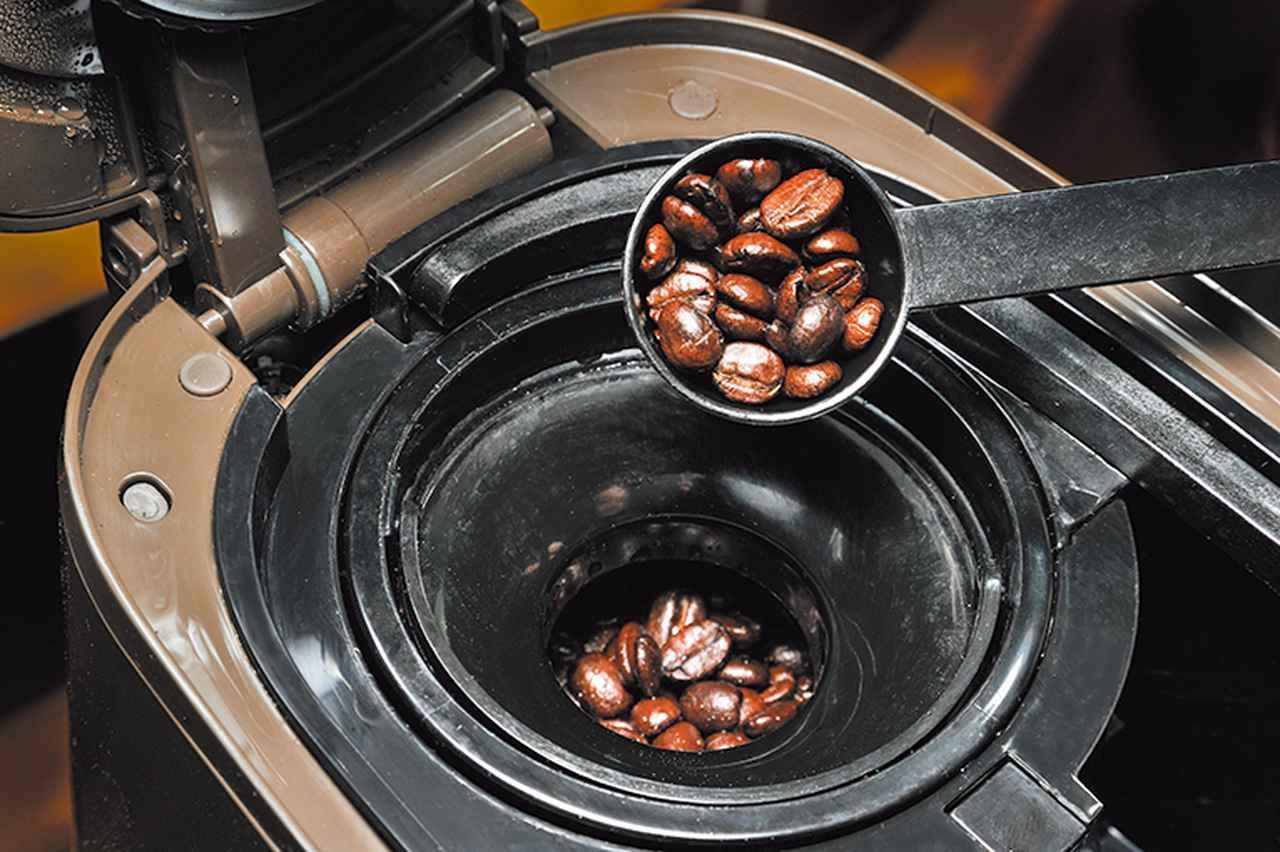 画像: 約5分でカップ4杯分の抽出が可能。