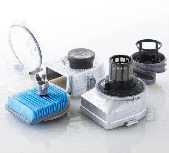 画像: カップもフィルターも水洗いが可能。