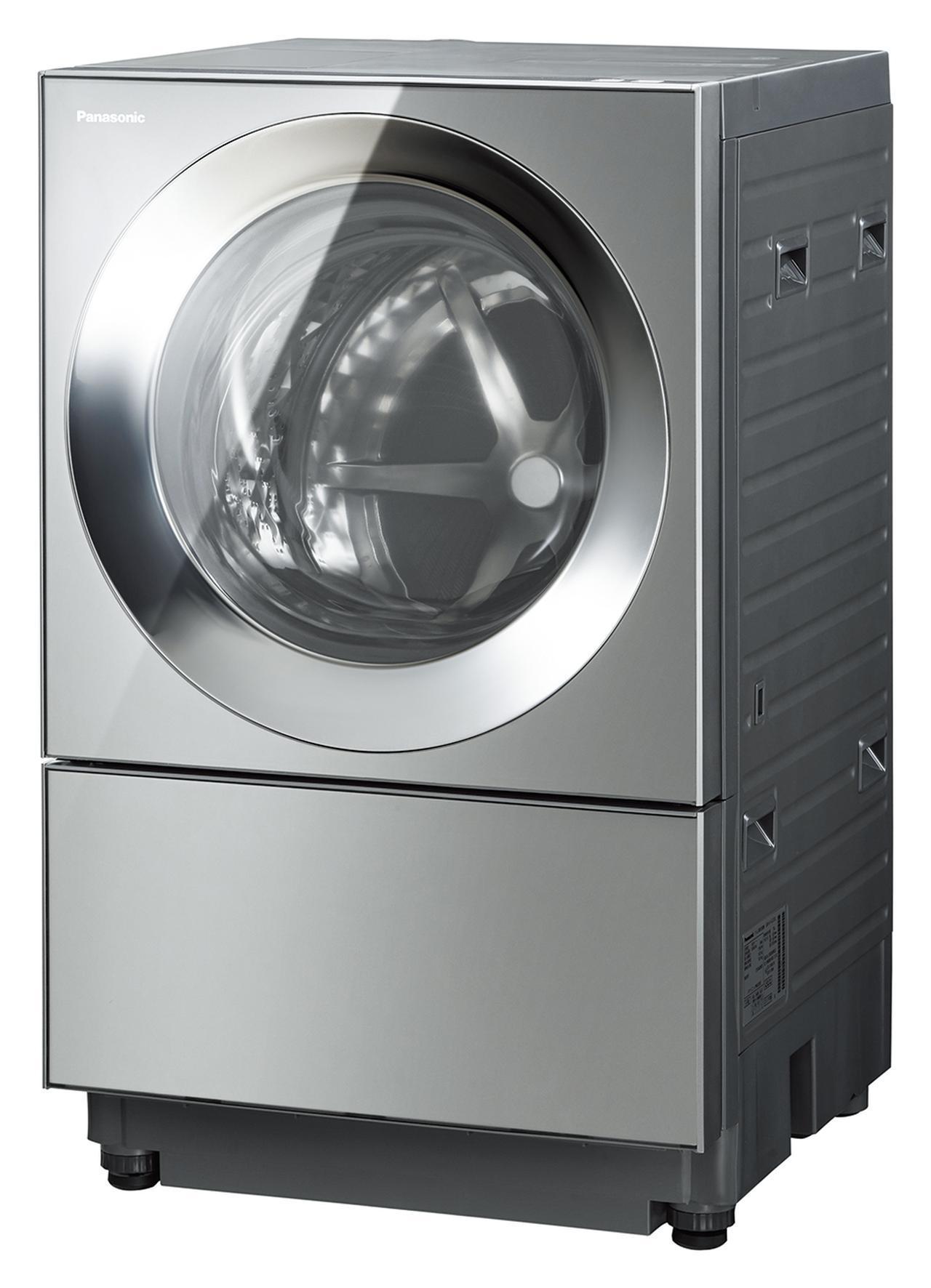 画像2: 今、洗濯乾燥機はスクエアデザインにシフト。泡洗浄や温水洗浄もトレンド