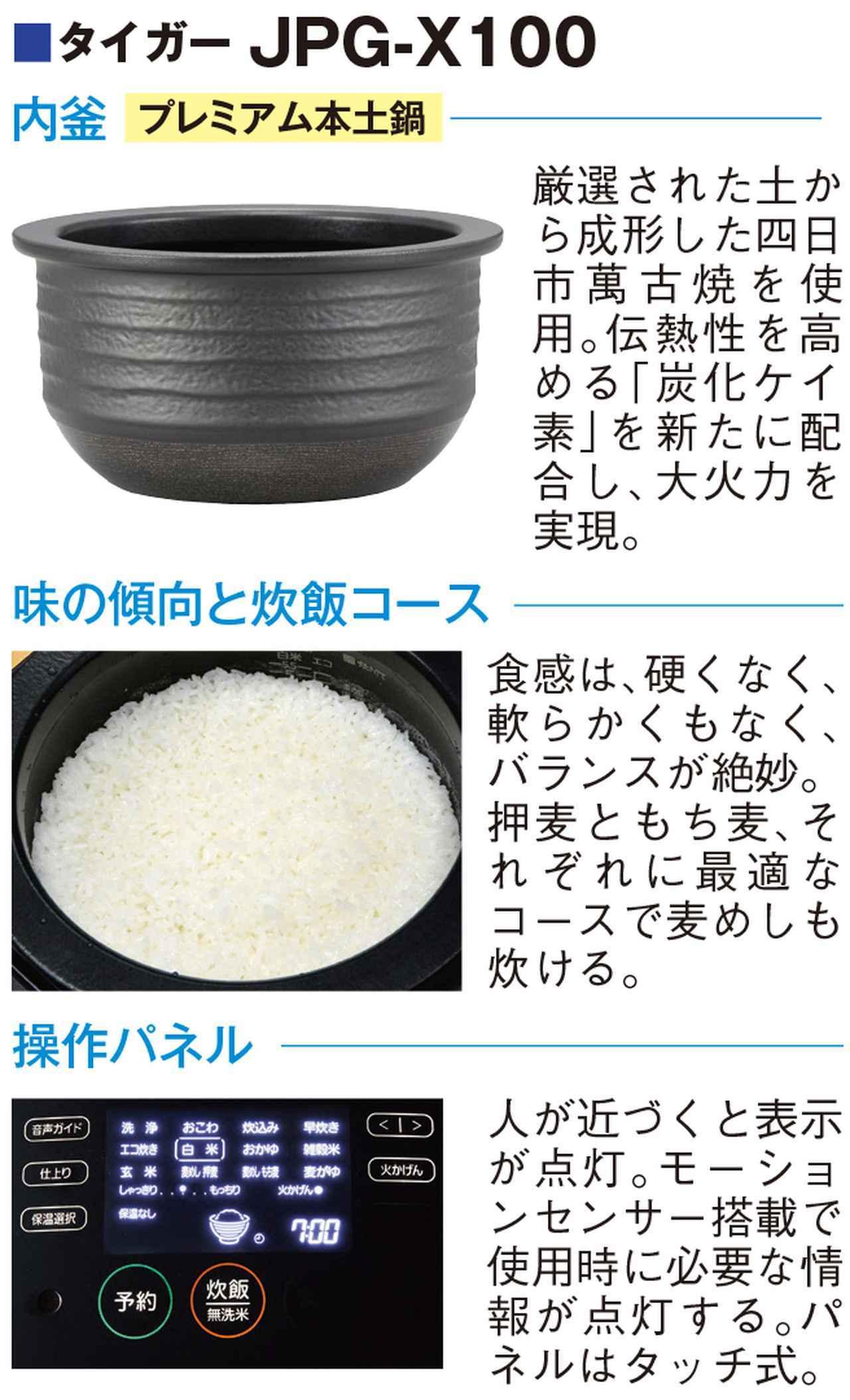 画像3: うまいIH炊飯器を探せ! 内釜や炊飯コースなど、持ち味を見極めよ!