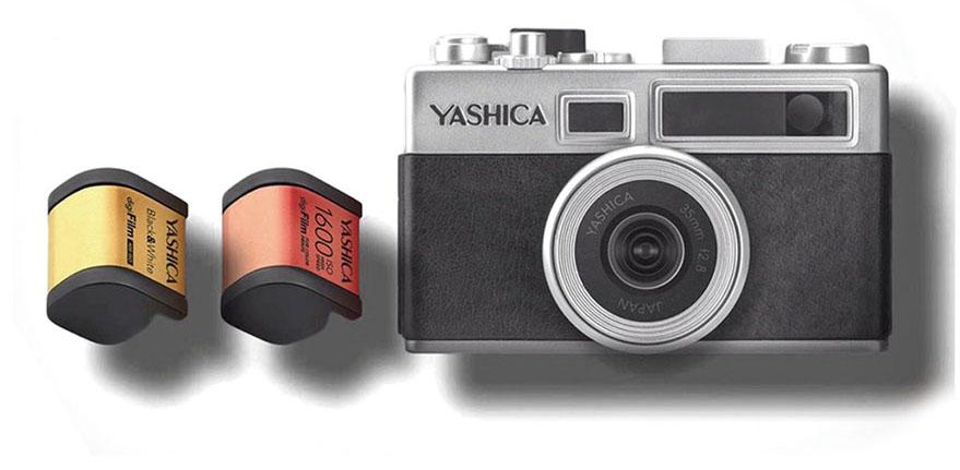 画像: YASHICA digiFilm Camera Y35