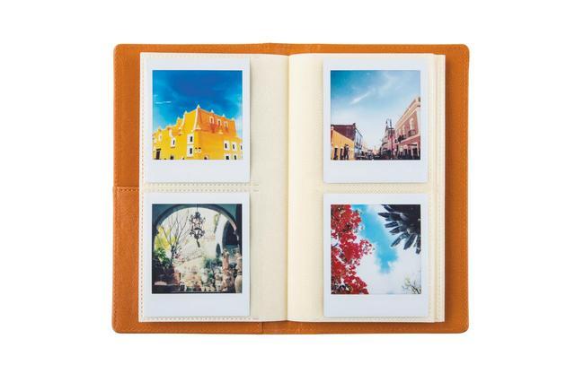 画像: ましかく写真専用のアルバム「INSTAX SQ ポケットアルバム」(富士フイルム。実売価格例:1180円)なども用意される。