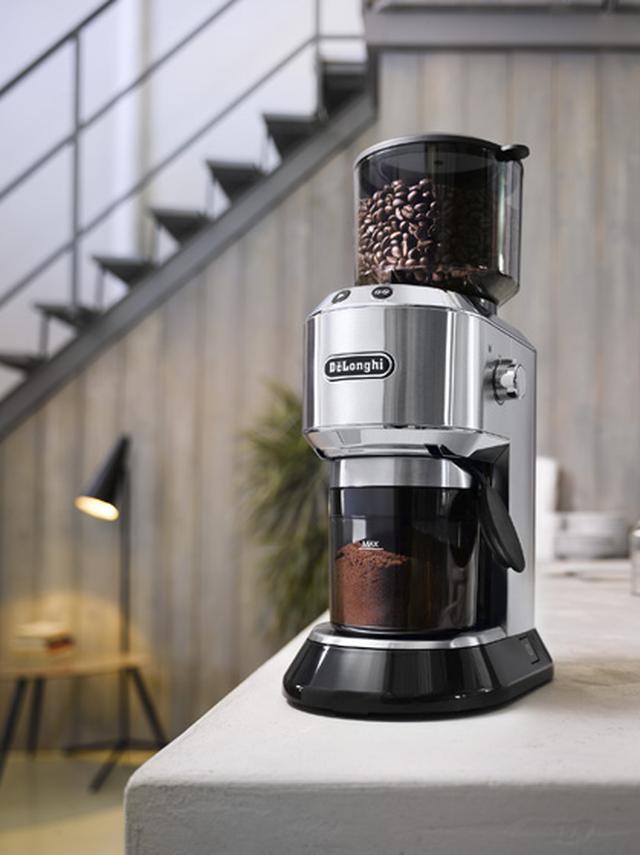 画像1: コーヒーこだわり派は必見! なんと18段階の豆の挽き分けができるグラインダー【やりすぎ家電】