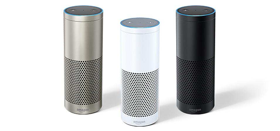 画像: Echoにスマートホームハブを追加し、やや大型になっている。対応家電製品の操作ができる。