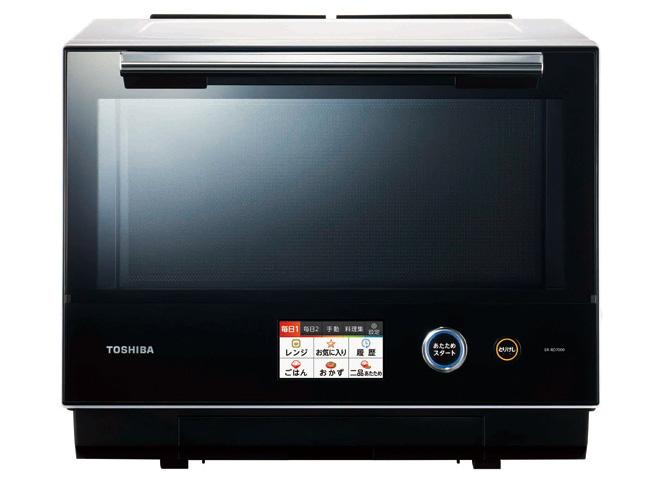 画像: オーブン機能に業界最高「350℃贅沢火力」を搭載。予熱が早く、旨みを閉じ込めて一気においしく仕上げる。グリル+過熱水蒸気、スチーム+レンジなどメニューは多彩。
