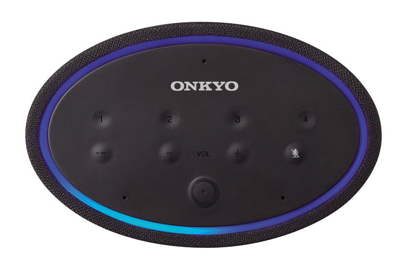 画像: P3の天面。再生/一時停止ボタンやボリューム調節ボタンのほかに、好きな放送局を四つまで登録できるプリセットボタンがある。