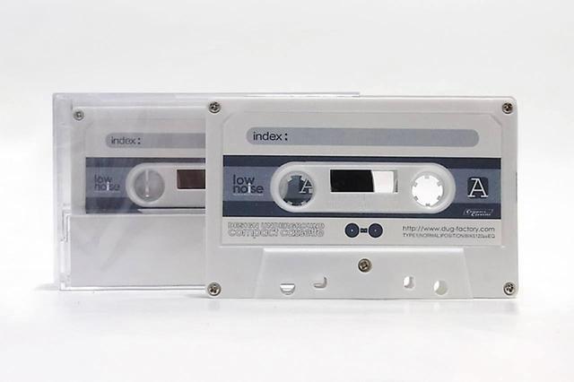 画像: デザインアンダーグラウンドが同社サイトで発売している新品のブランクカセット。東京電化のテープを使用したもので、C-60が1本210円。C-10やC-90もある。