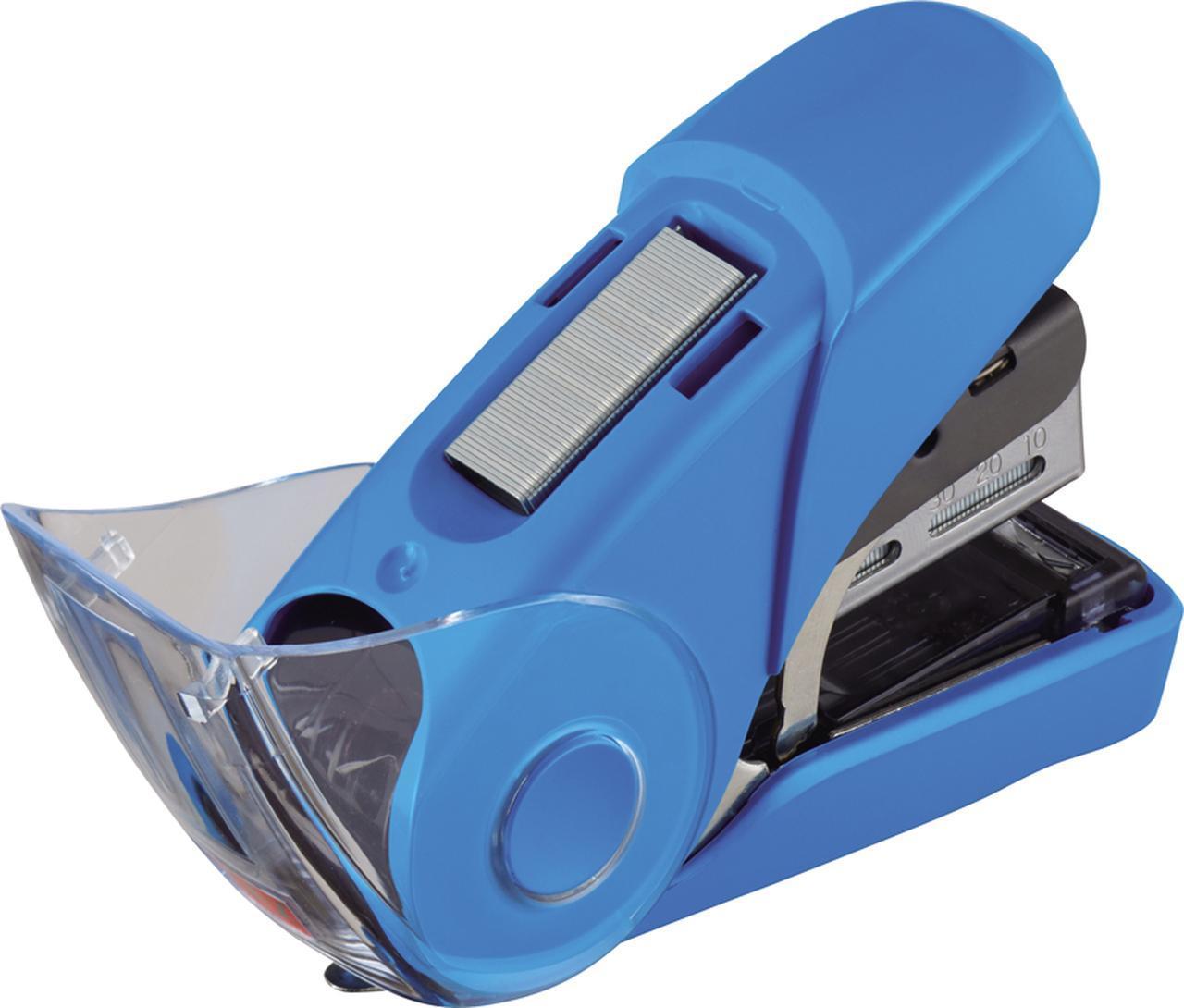 画像: 上部の予備針ポケットに100本(50本×2)を収納可能。針切れを気にすることなく利用できる。