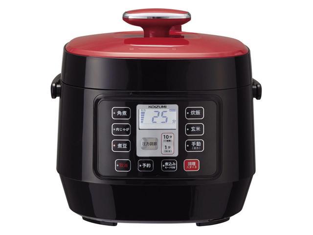 画像1: 小泉成器 マイコン電気圧力鍋 KSC-3501/R