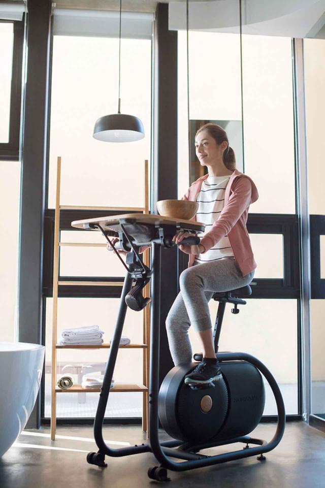 画像: 読書しながら、仕事しながら、動画を見ながら運動ができる、やりすぎエアロバイク