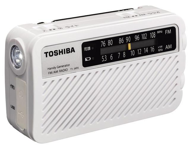 画像: IP54相当の防塵・防滴仕様なので、水がはねる場所でもホコリっぽい屋外でも使用可能。手回し充電には長期保管に強いキャパシタを採用し、ハンドルを回すとラジオ受信/スマホ充電にすぐに使える。 ●幅110㎜×高さ65㎜×奥行き35㎜●188g(電池除く)●電源:充電池、単4×2●スマホ充電対応(USB)