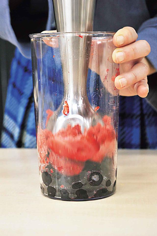 画像: 氷が粉砕できるからスムージーもるお手のもの。