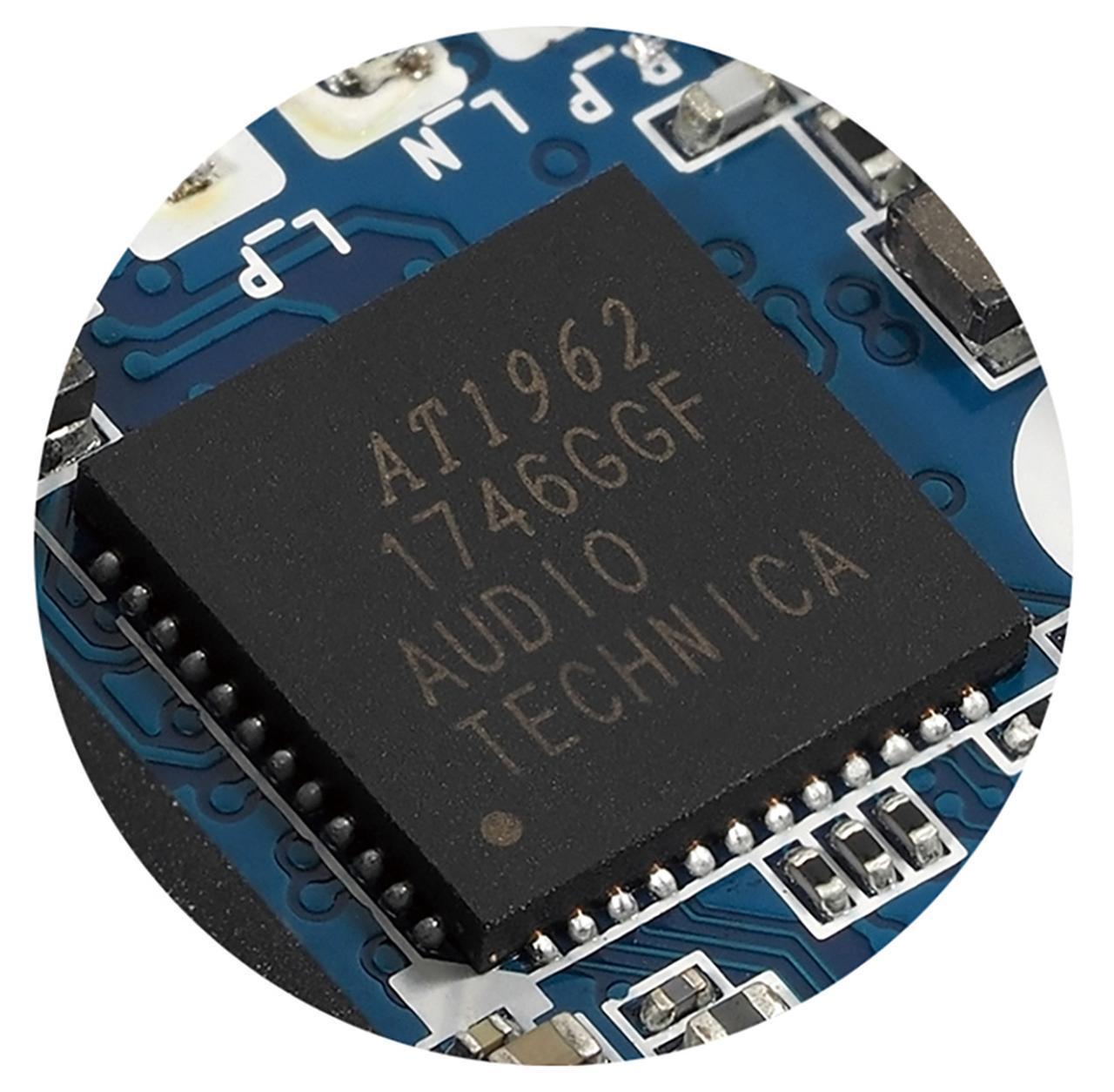 画像: ダイナミックレンジを拡張する新開発のD/Dオーディオ・コンバーター(AT1962)を搭載。
