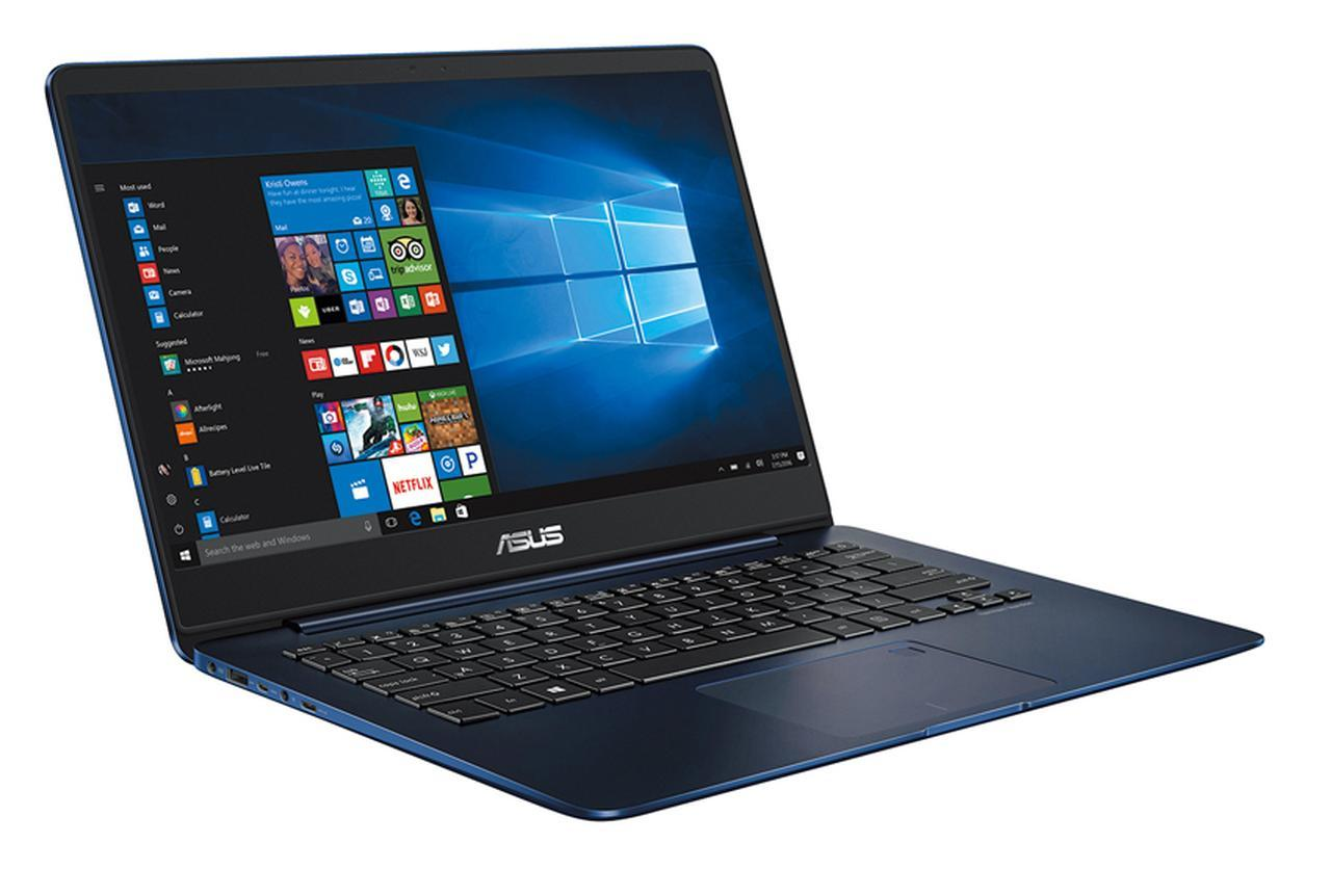 画像: ASUS ZenBook 14 UX430UA