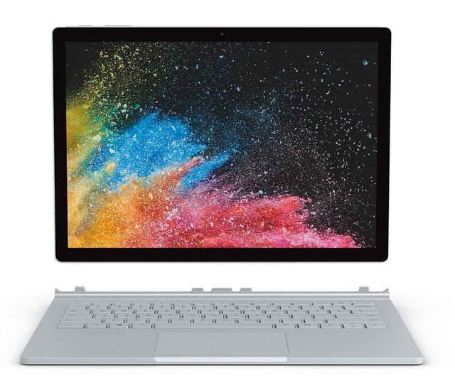 画像: マイクロソフト Surface Book 2