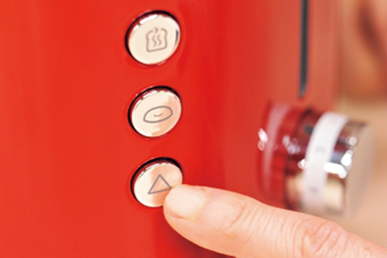 画像: 温め直しやベーグル片面焼き、キャンセルもボタン操作。