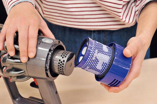 画像: 月に一度の水洗いが必要なフィルターを、2ヵ所から1ヵ所へ集約。メンテナンスの手間を軽減。