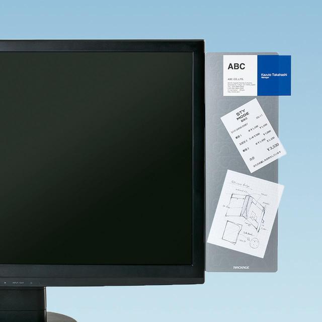 画像: メモを貼っておける静電気吸着ボードの小型バージョン