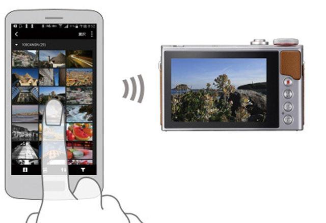 画像: 一度ペアリングを行えば、次からはスマホ側の操作だけでカメラとの接続ができる。