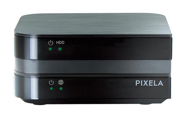 画像: AndroidTV機能とHDDレコーダーが一体化した機器。本体をネットに接続し、アプリをインストール可能。