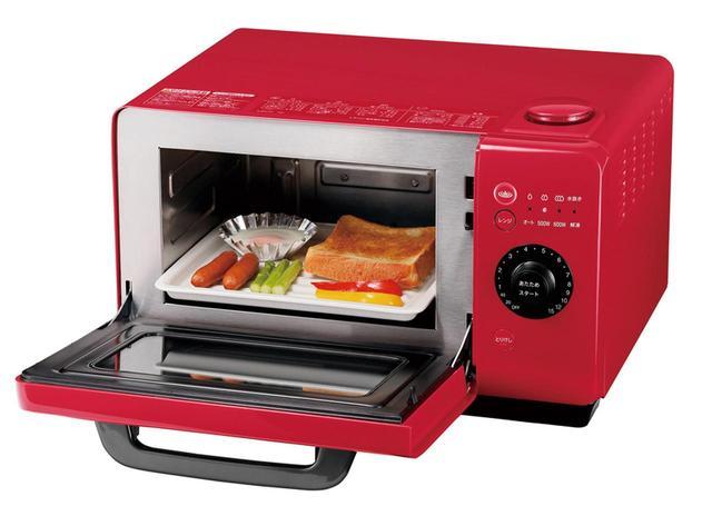 画像: キッチンのスペース効率を上げるレンジ付きモデル、ヘルシオ グリエレンジ「AX-HR2」(実売価格4万1210円)も登場。