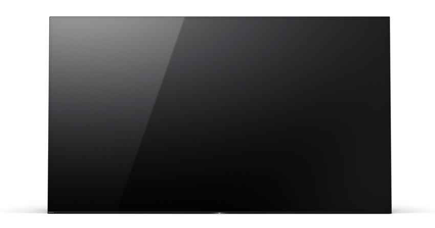 画像: 画面から音が出るユニークなスピーカーシステムを搭載