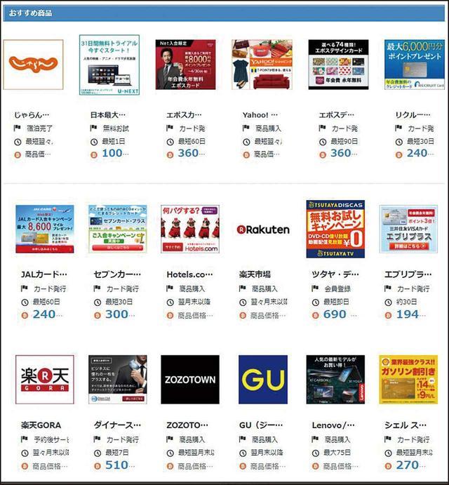 画像: ビットフライヤーを通じてショッピングなどをすると、購入額に対して一定の割合でビットコインがもらえるサービスが多数ある。