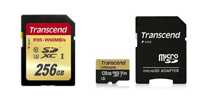 画像: 256MバイトのSDや128MバイトのmicroSDも、トランセンドの製品なら比較的リーズナブル。